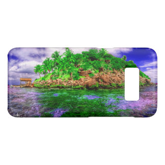 Tropical Island Oasis Case-Mate Samsung Galaxy S8 Case