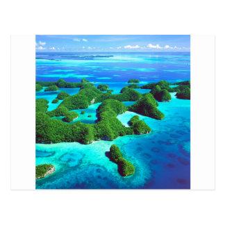 Tropical Island Republic Palau Postcard