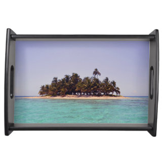 Tropical Island Serving Tray