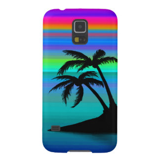 Tropical Island Sunset Cases For Galaxy S5