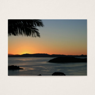 Tropical Island Sunset - Gift Certificate