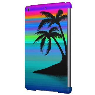 Tropical Island Sunset iPad Air Cover