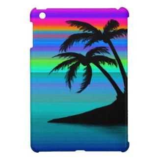Tropical Island Sunset iPad Mini Cover