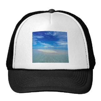 Tropical Island Tropical Oasis Mesh Hats