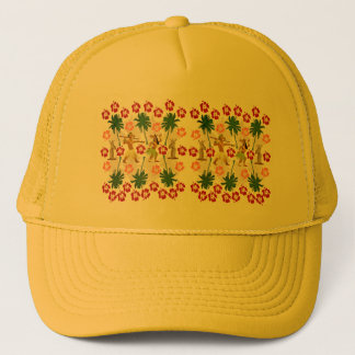 Tropical Island Unicorn Trucker Hat