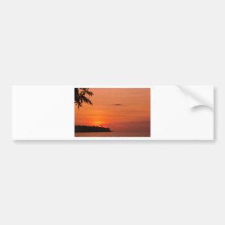 Tropical Islands Bumper Sticker