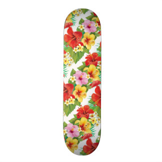 Tropical Islands Hibiscus 20 Cm Skateboard Deck