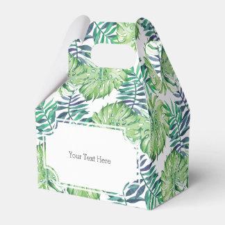 Tropical Islands Plants Monstera Deliciosa Favour Box