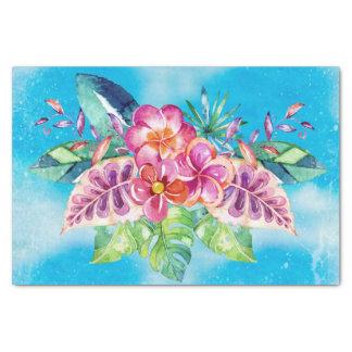 Tropical Jungle Flowers - Aloha Beach Tissue Paper