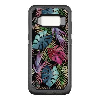 Tropical Jungle Foliage Botanical Pattern OtterBox Commuter Samsung Galaxy S8 Case