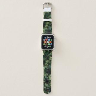 Tropical Jungle Pattern Apple Watch Band