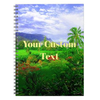Tropical Kauai Hawaiian Island Notebook