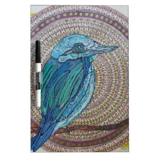 Tropical Kingfisher Dry Erase Boards