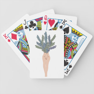 Tropical lady A Bicycle Playing Cards
