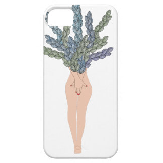 Tropical lady A iPhone 5 Case