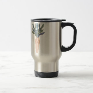 Tropical lady A Travel Mug