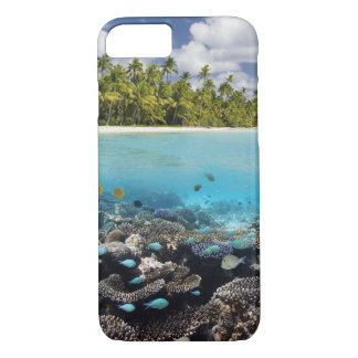 Tropical Lagoon in South Ari Atoll in the iPhone 7 Case