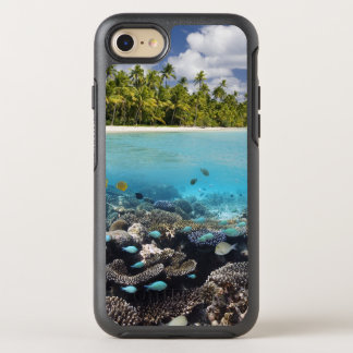 Tropical Lagoon in South Ari Atoll OtterBox Symmetry iPhone 7 Case