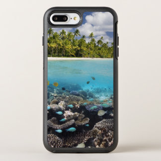 Tropical Lagoon in South Ari Atoll OtterBox Symmetry iPhone 7 Plus Case