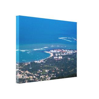 Tropical Landscape/Cityscape Canvas Print