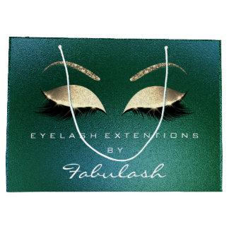 Tropical Lashes Blush Makeup  Minimal Branding Large Gift Bag