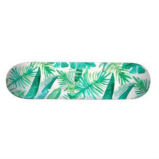 Tropical Leaf Deck by Megaflora Design Skateboards