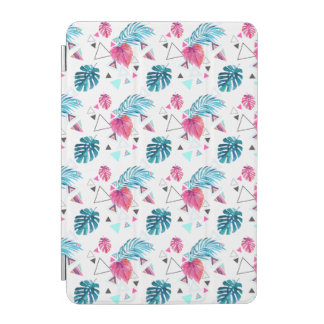 Tropical Leaf Triangle Pattern iPad Mini Cover