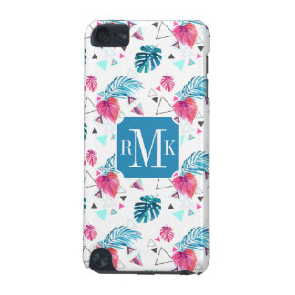 Tropical Leaf Triangle Pattern iPod Touch 5G Cover
