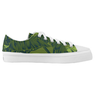 Tropical Leaves Low Tops