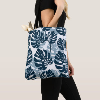 Tropical Lettuce, green leaf Tote Bag
