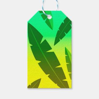 tropical lime gift tags
