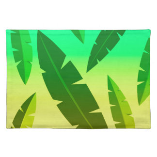 tropical lime placemat