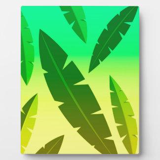 tropical lime plaque