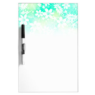 Tropical love dry erase board