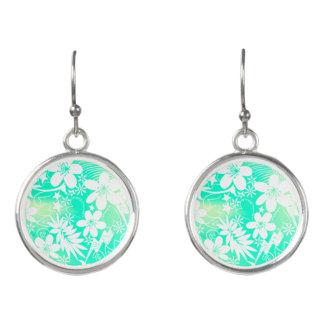 Tropical love earrings