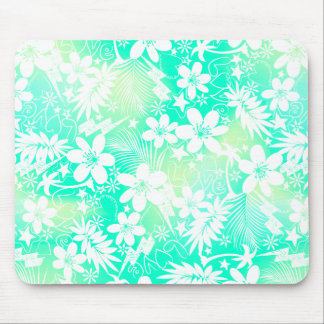 Tropical love mouse pad