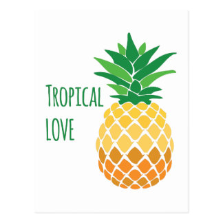 Tropical Love Postcard