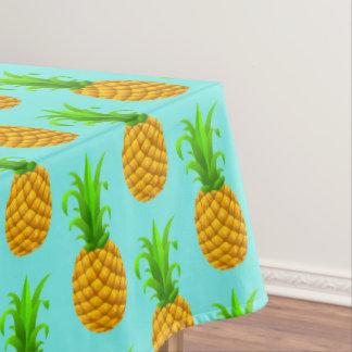Tropical Luau Pineapple Hawaiian Party Table Cloth