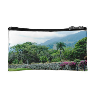 Tropical Lush Cosmetic Bag