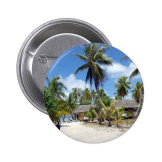 Tropical Maldives Palm Grove Shacks Button