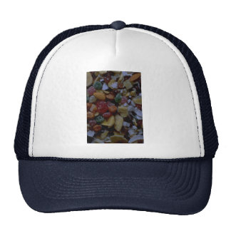 Tropical mix mesh hat