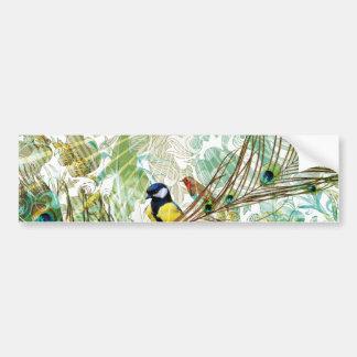 Tropical Mix Landscape bumper sticker Car Bumper Sticker