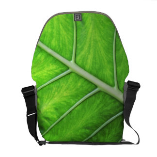 Tropical Nature Green Leaf Photo Photography Bag Courier Bags