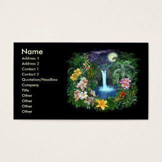 Tropical Nights Business Card