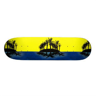 Tropical Oasis Skate Deck