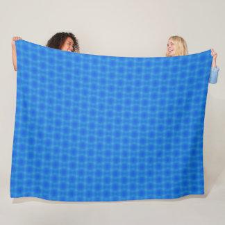 Tropical Ocean Waves Pattern Fleece Blanket