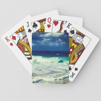 Tropical Ocean Waves Playing Cards