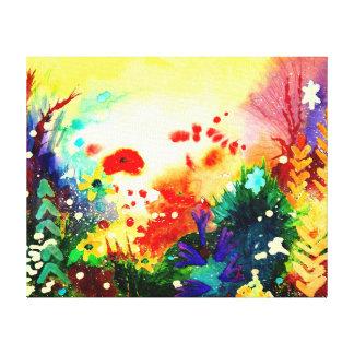 Tropical one. canvas print