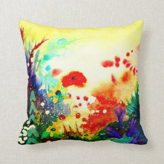 Tropical  One. Throw Pillow
