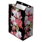 Tropical Orchid Flowers Floral Island Gift Bag
